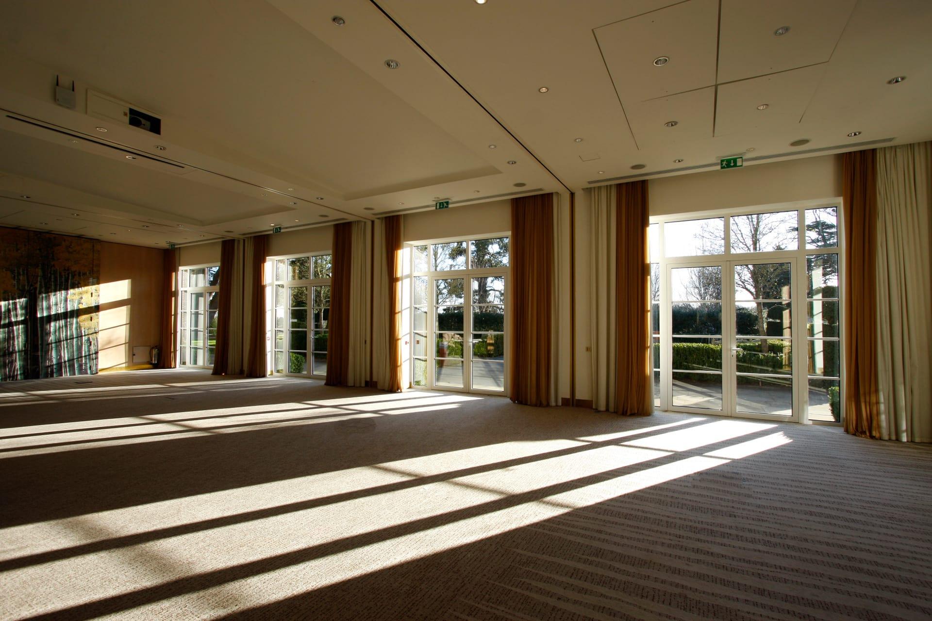 Aluminium Casement Doors Interior