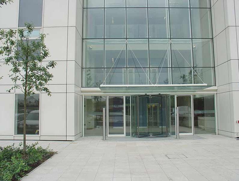 Aluminium Framed Entrance Doors