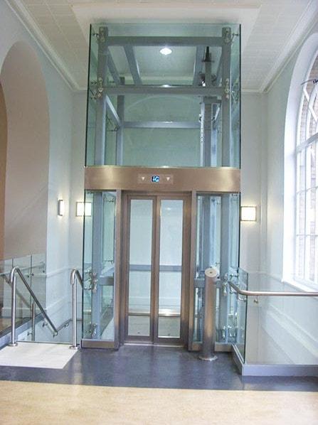 Bespoke Glass Lift