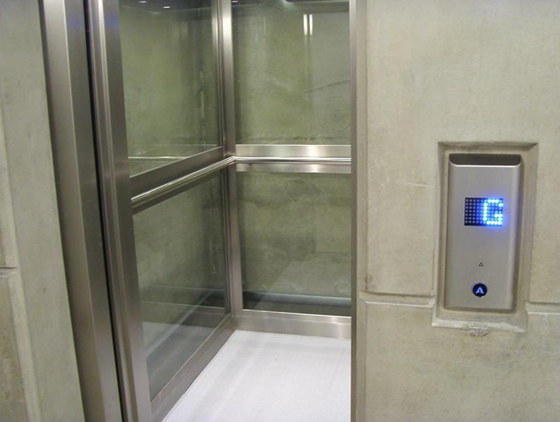 Glass Lift Interior