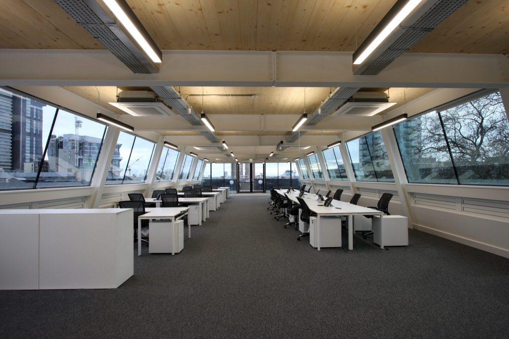 Contemporary Glazed Office