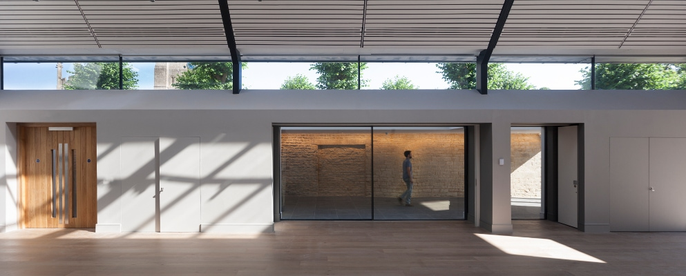 Frameless Clerestory Windows