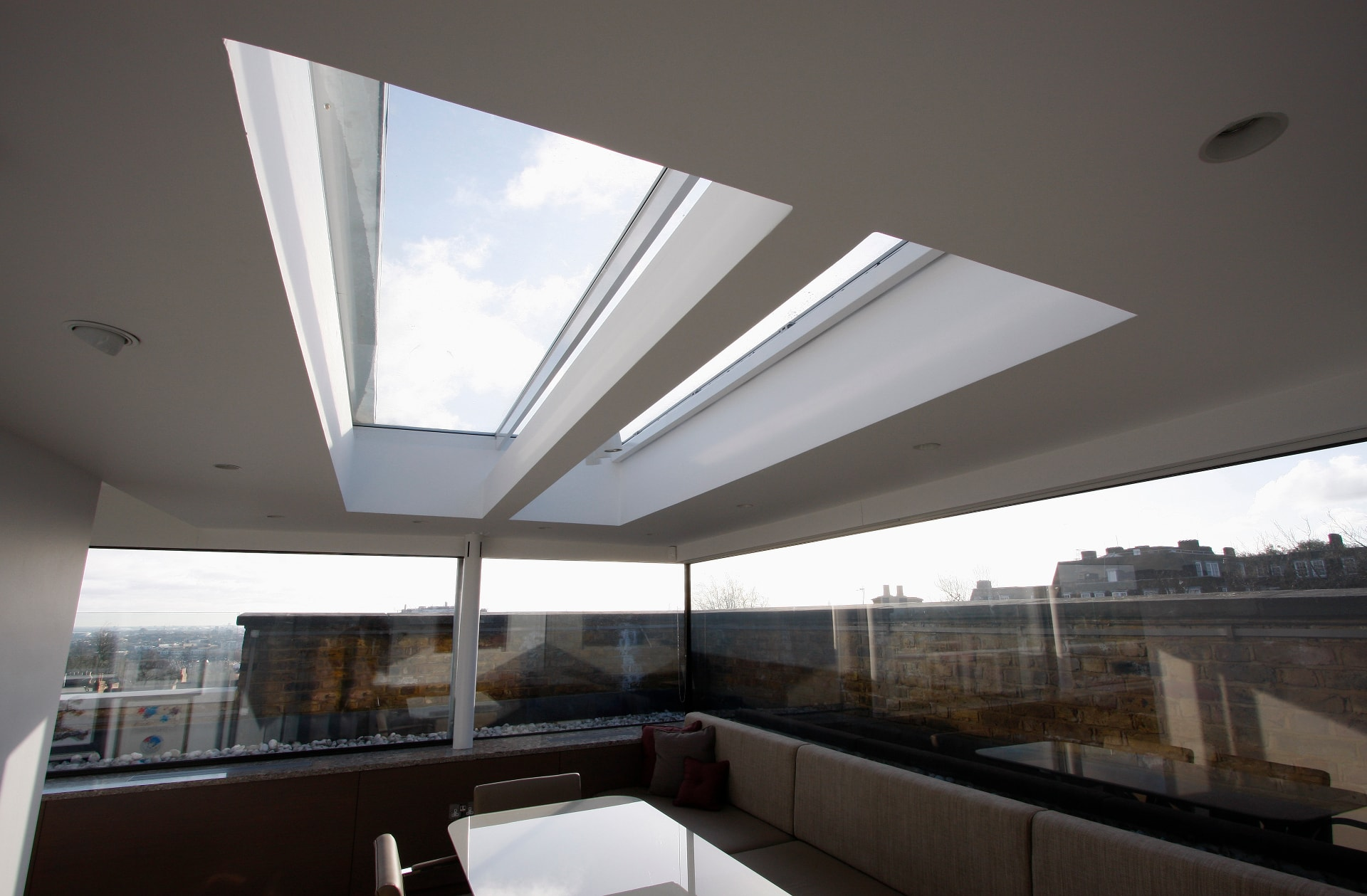 Frameless Glass Rooflight