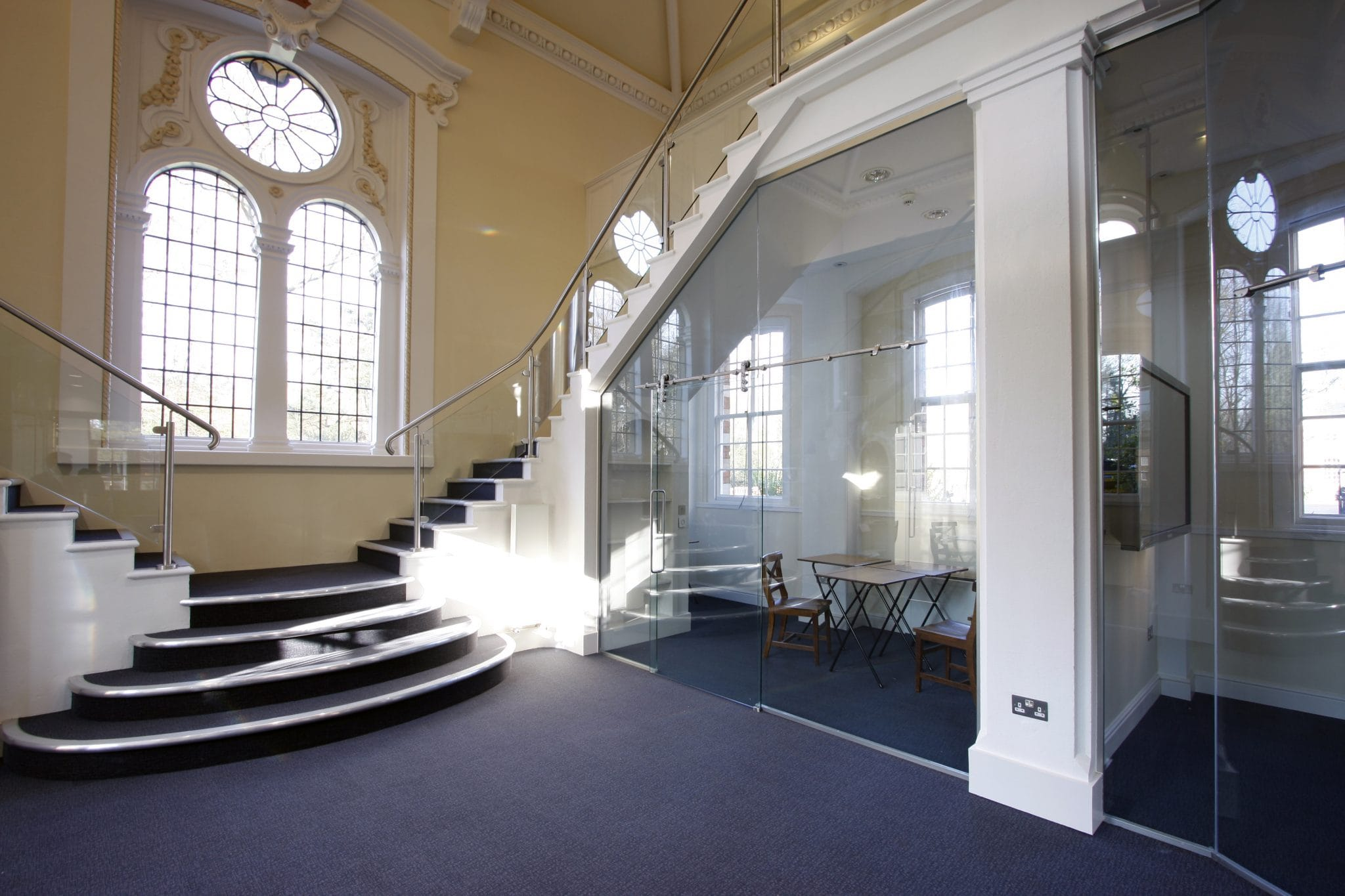 Glass Balustrades and Partitions