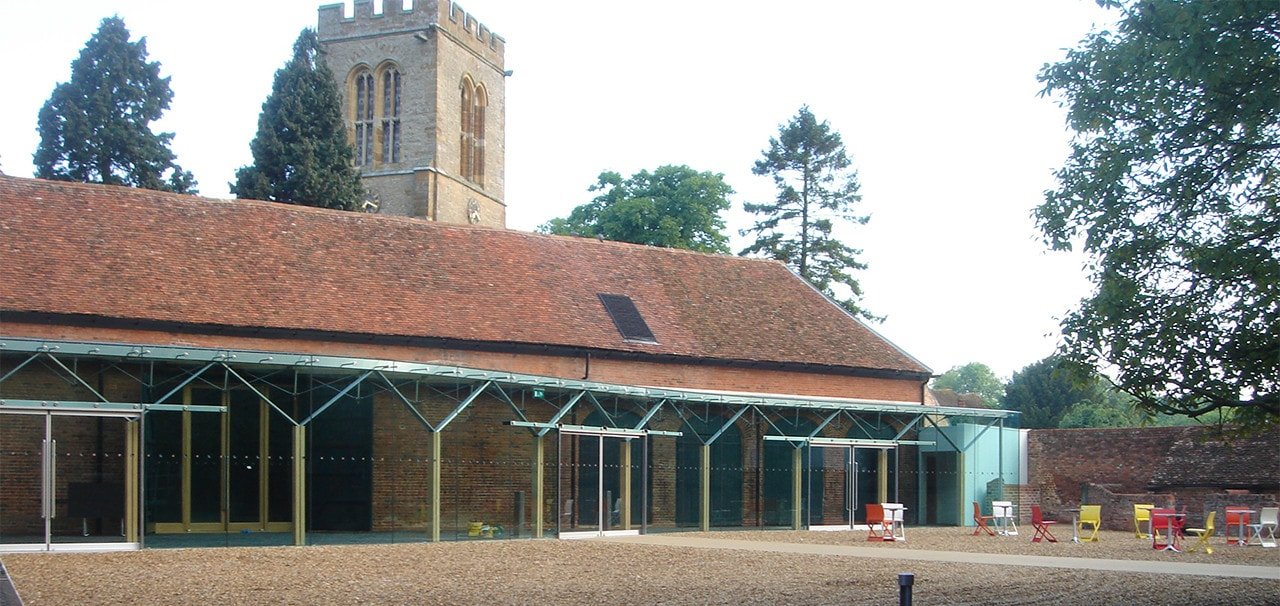Glass Extension to a Listed Building