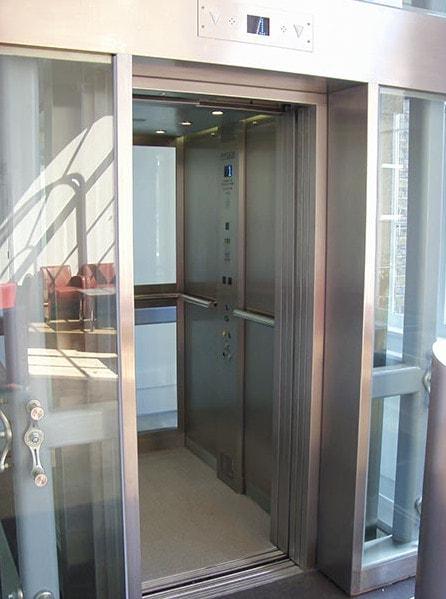 Glass Lift Interior