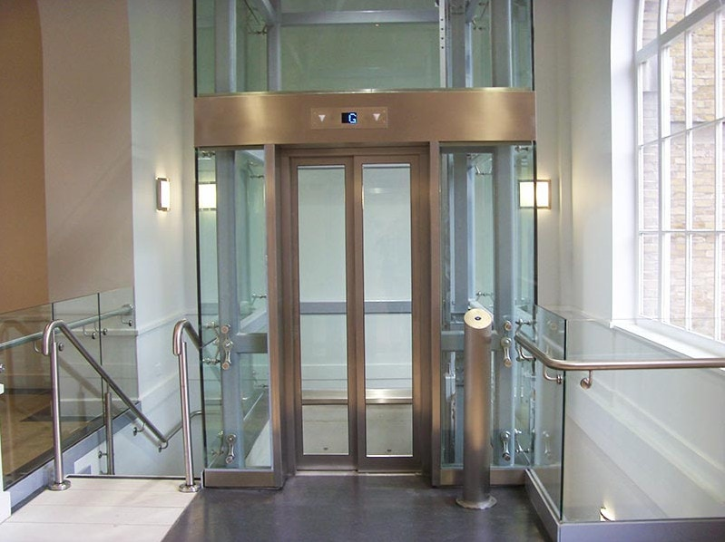 Bespoke Glass Lift