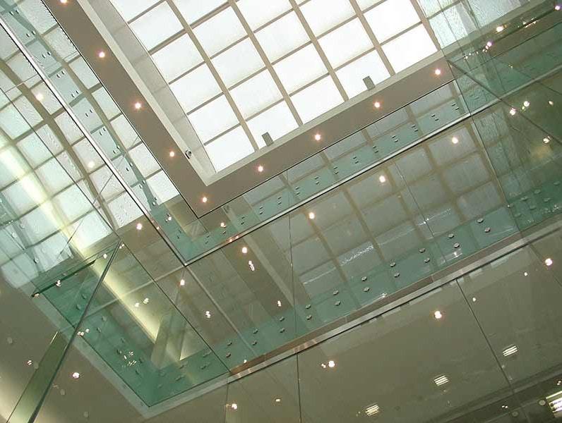 Internal Frameless Glass Balustrades