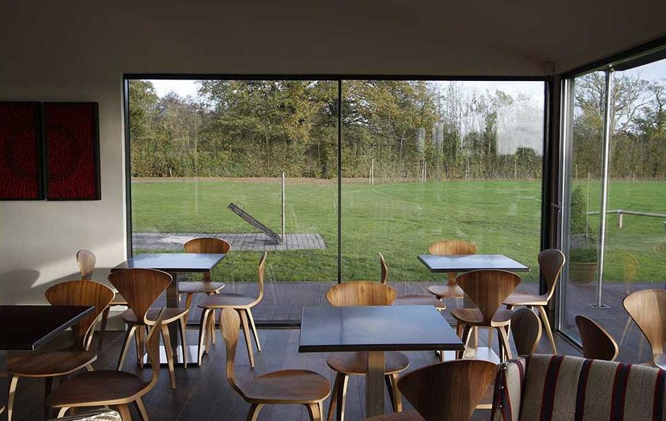 minimal windows slim sliding glass doors