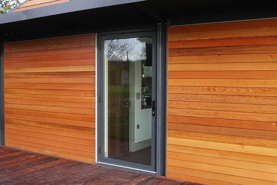 Aluminium Casement Door