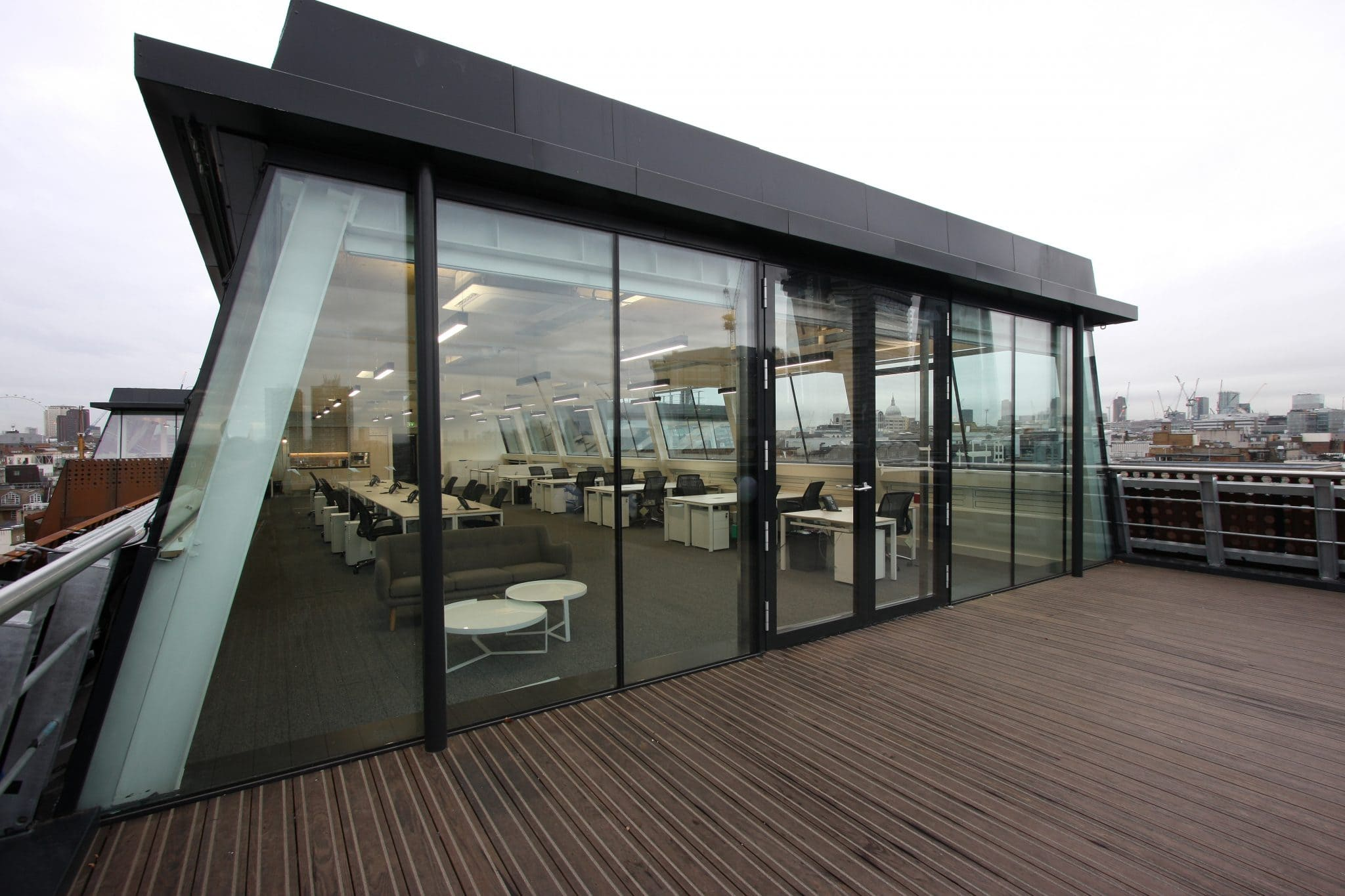 Rooftop Glass Box