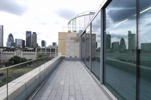 Rooftop Glass Facade