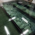 Slip Resistant Glass Floor