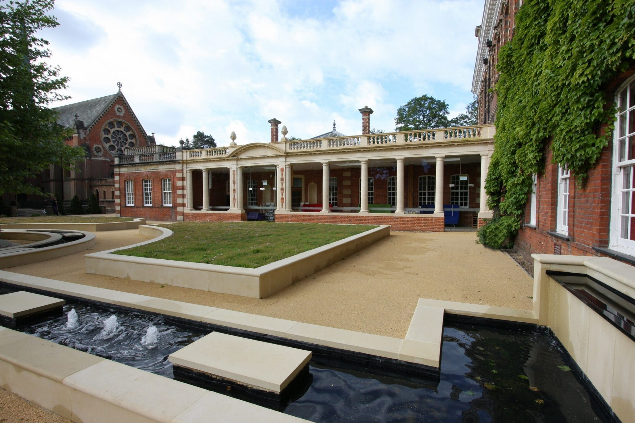 Wellington College Courtyard