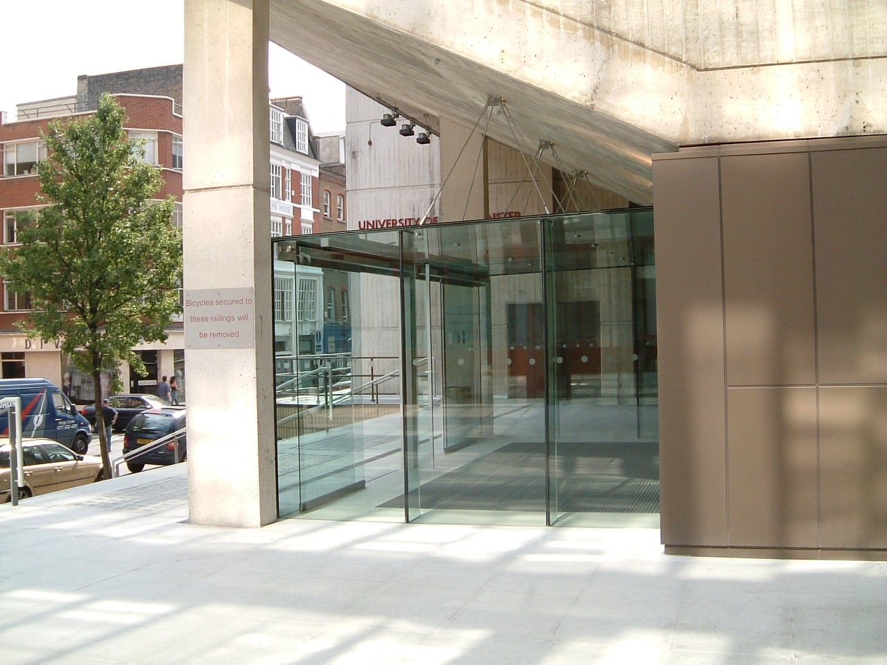 Glazed Entrance Extension