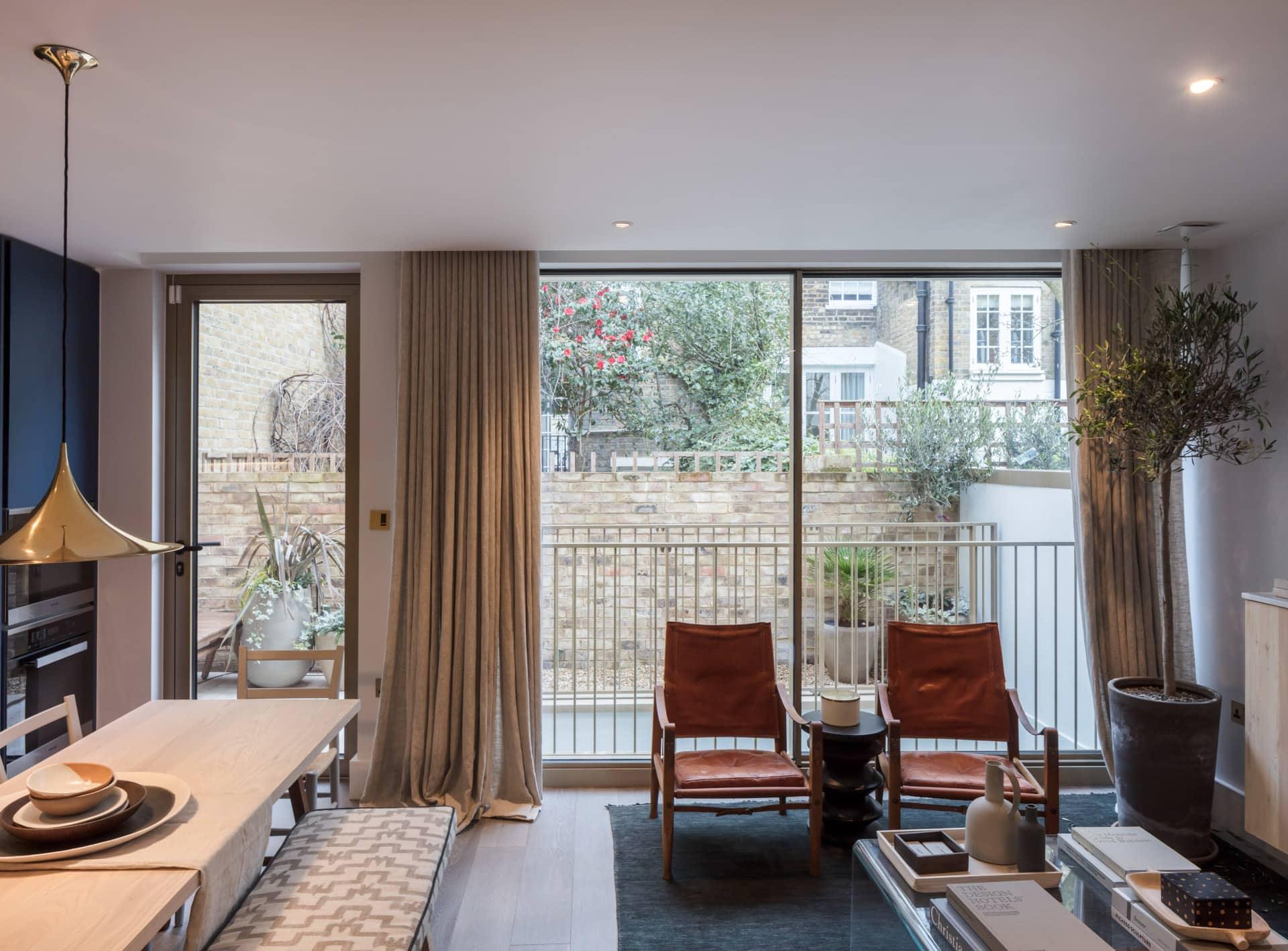 Glazing to luxury development