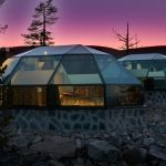 heated glass igloo hotel