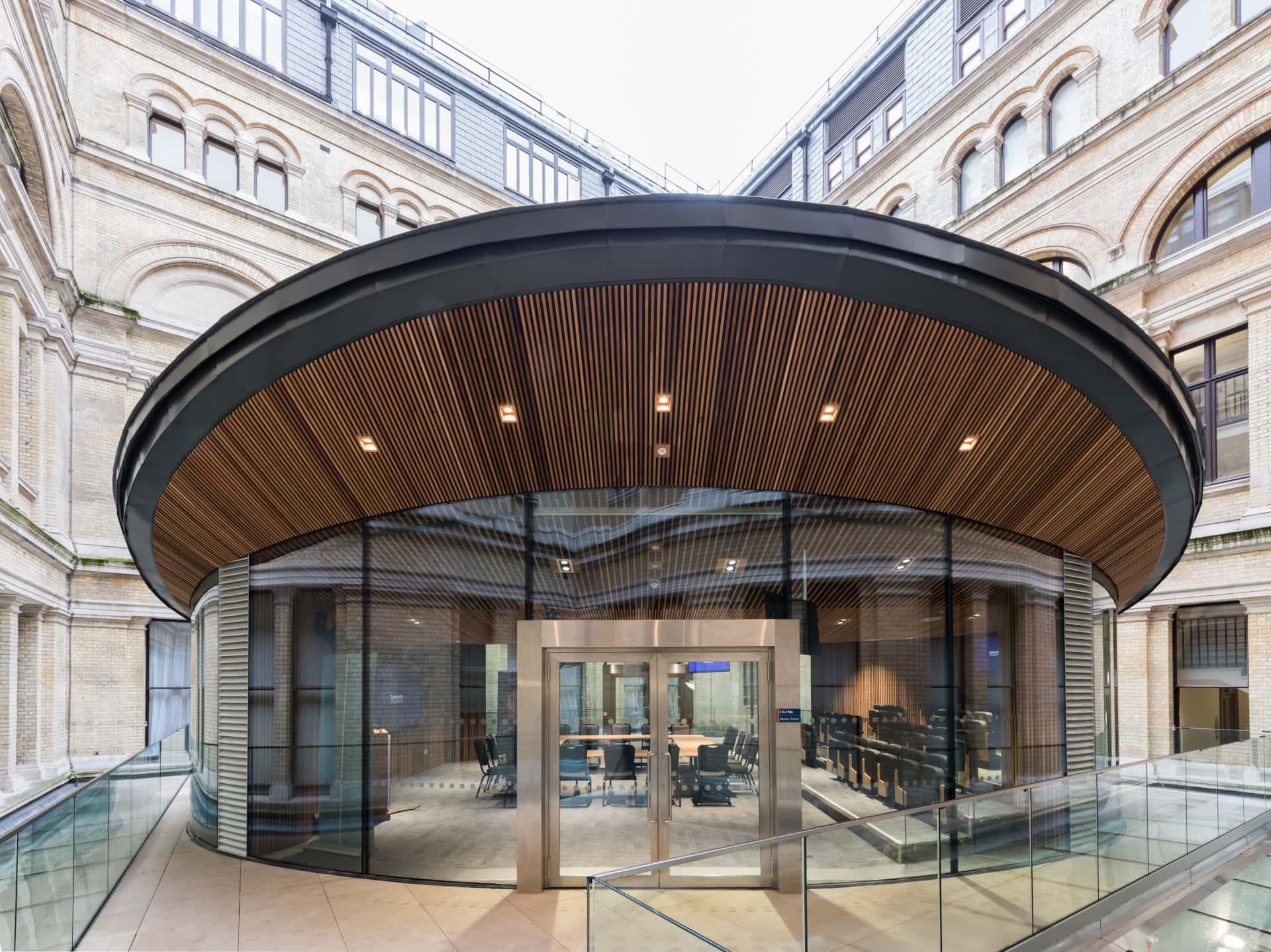 Structural glass facade
