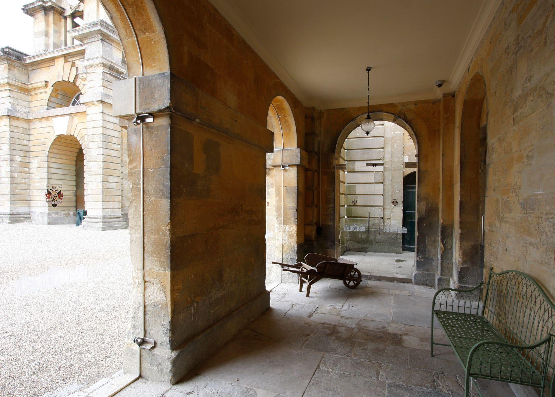 Frameless Glass to Blenheim Palace