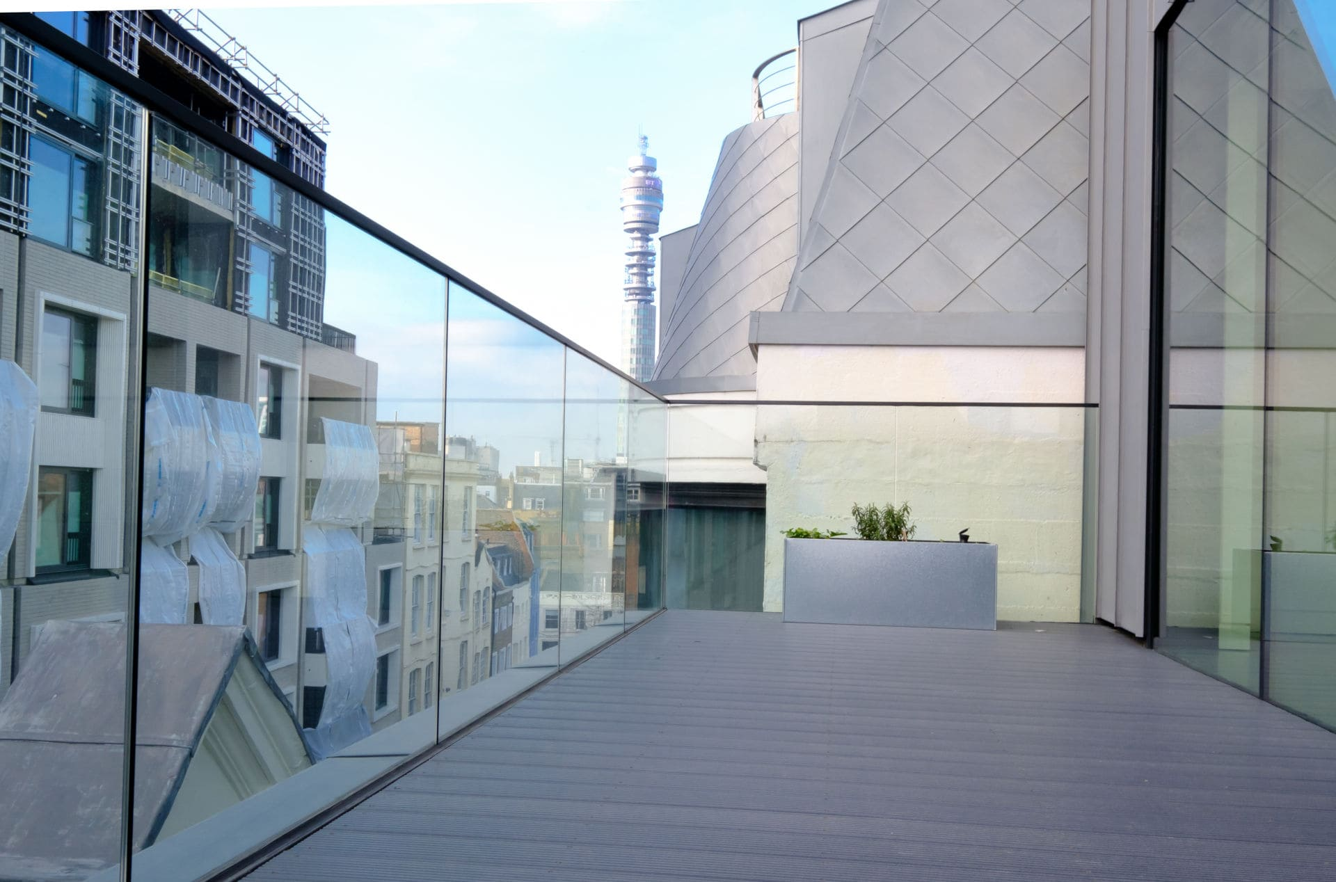 Structural Glass Balustrade