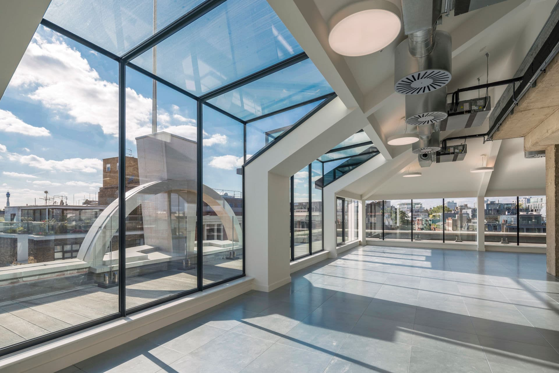 Structural Glass Walls