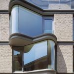Curved Glass Windows to a Luxury Apartment Block in Westminster