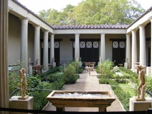 Roman atrium open roofed courtyard
