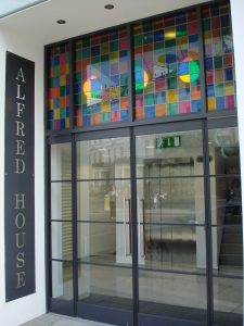 Bespoke coloured structural glass