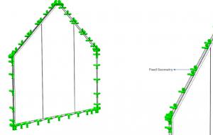 double height frameless structural glass façade design