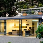 aluminium glazing showroom
