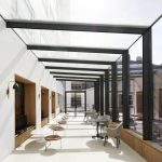 solar control glass to glass box extension