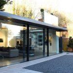IQ Showroom with sliding glass doors and legacy casement door