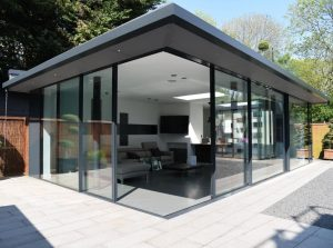 iq-showroom-with-corner-opening-sliding-glass-doors