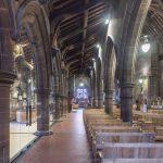 internal frameless glazing to church renovation