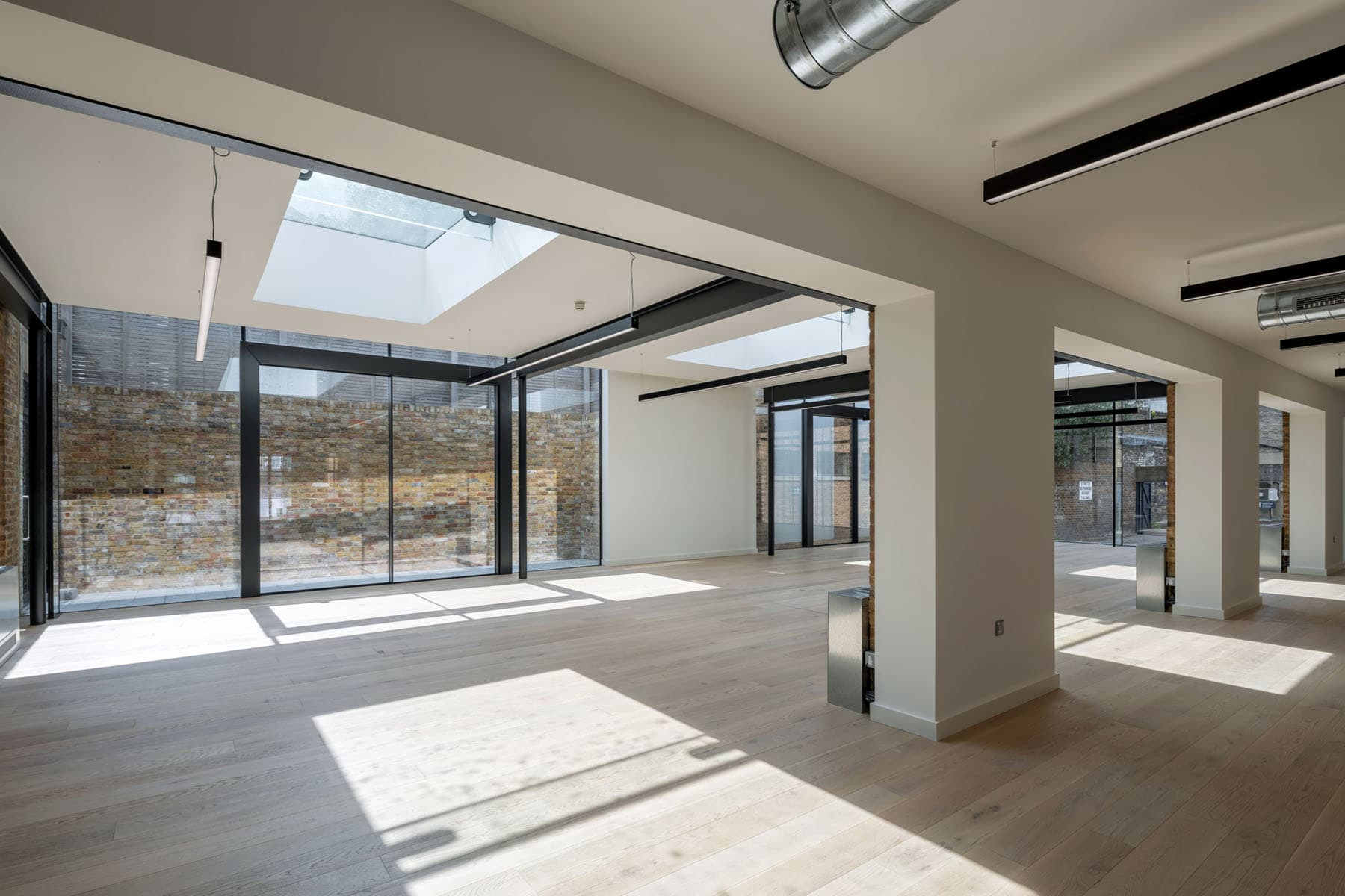 minimal venting rooflight commercial system