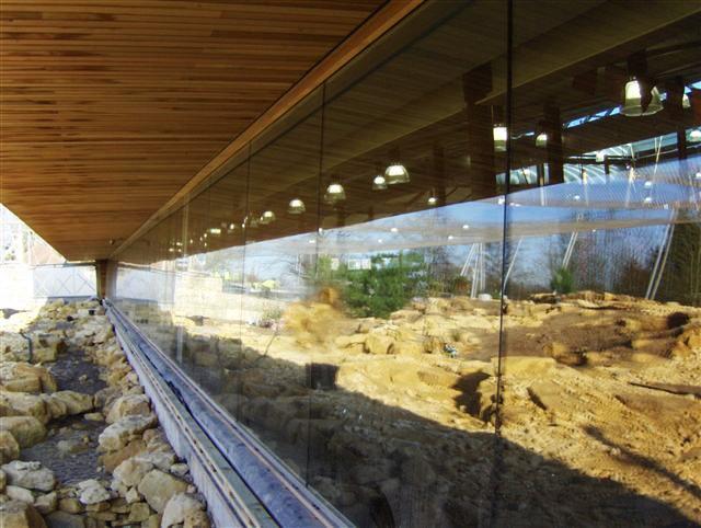Large heated glass panels