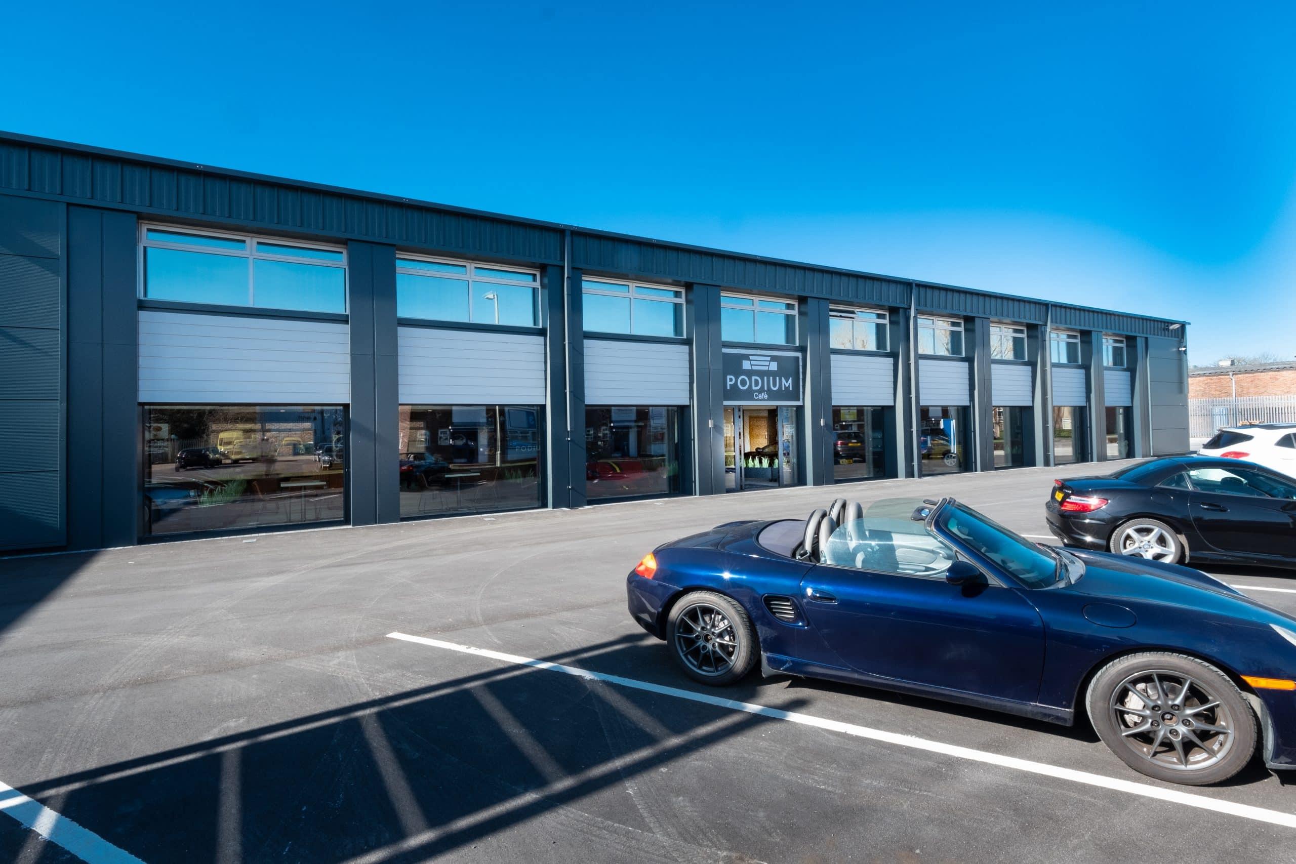 Frameless Glazing to Car Showroom