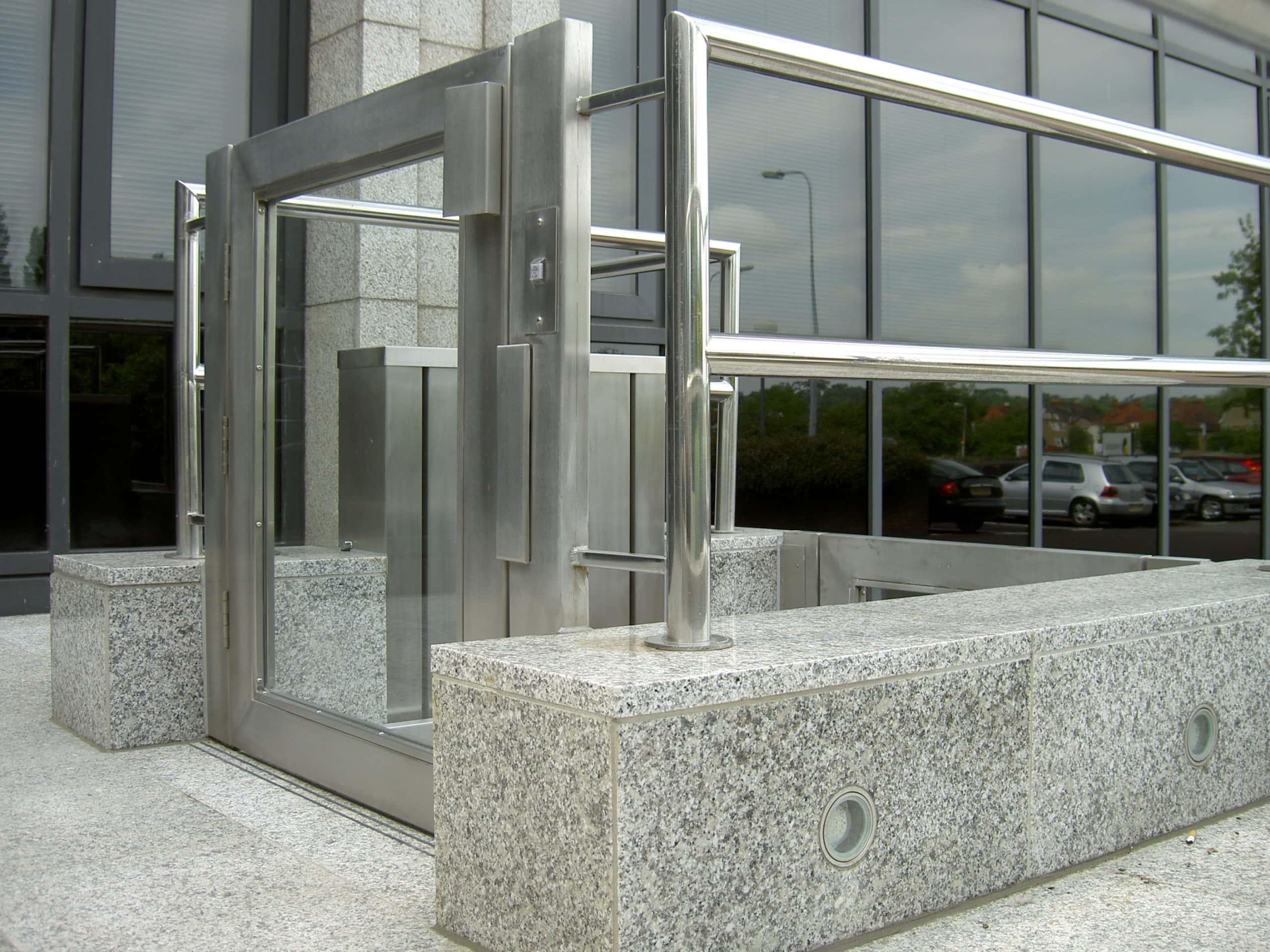 external glass for for Lift Shaft Glazing
