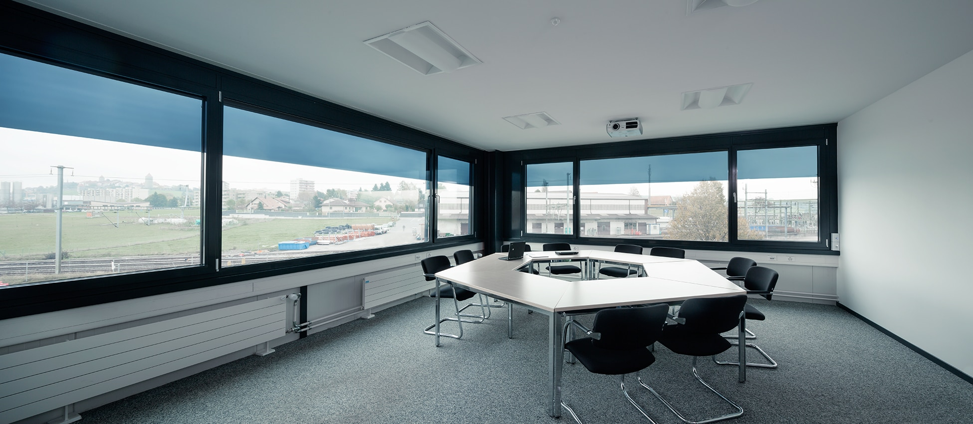 meeting room at saint gobain tower