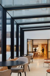 saville row glass box extension project resimercial design