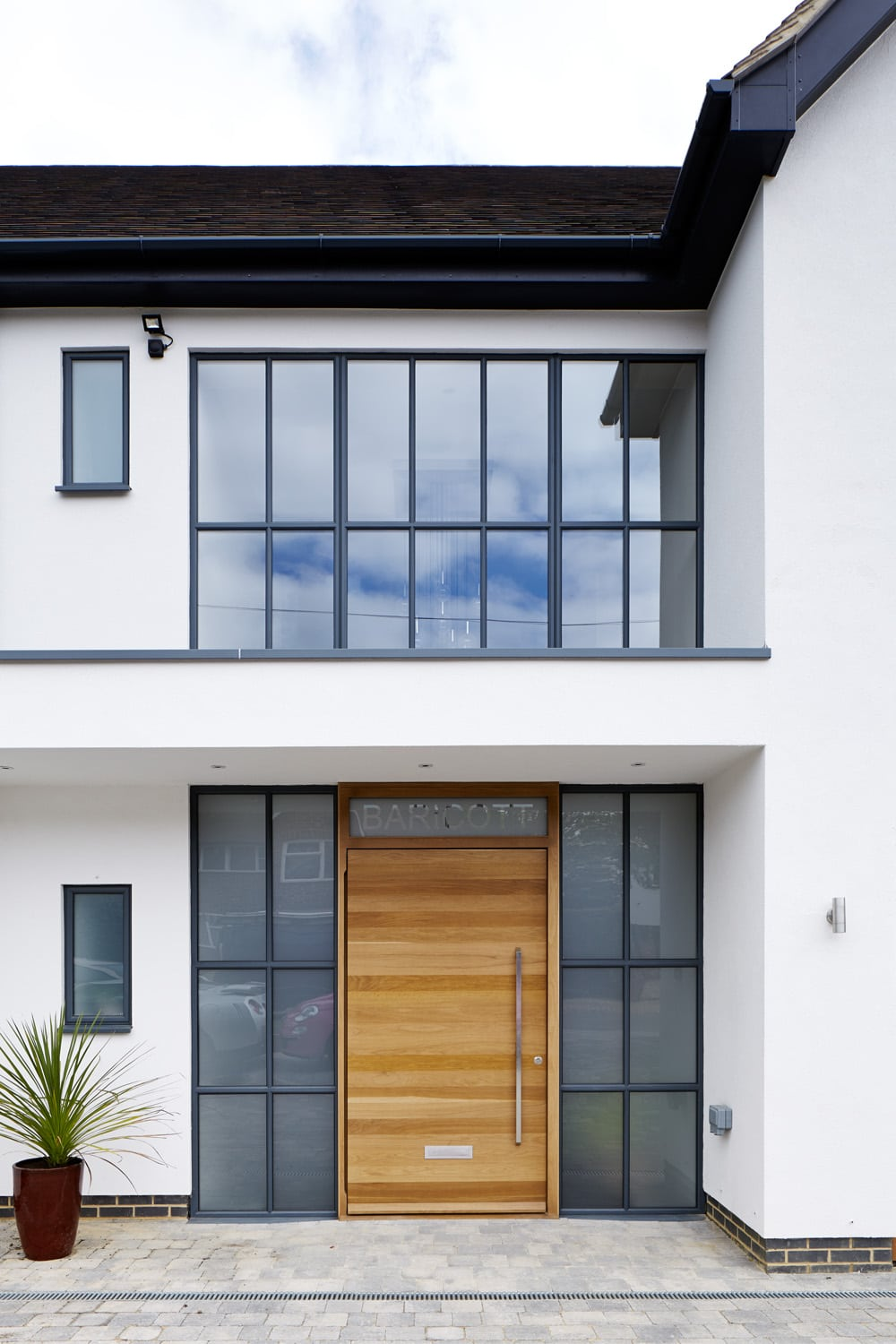 steel and aluminium framed windows including sliding and fixed and casement windows