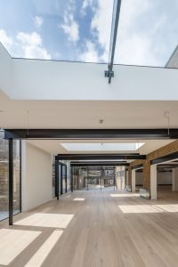 structural glass cieling