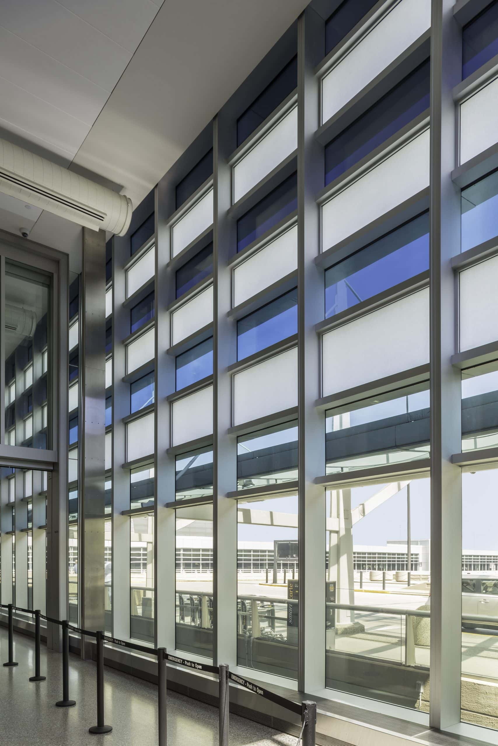 electrochromic glass is a unique and modern solar shading solution perfect for commercial spaces