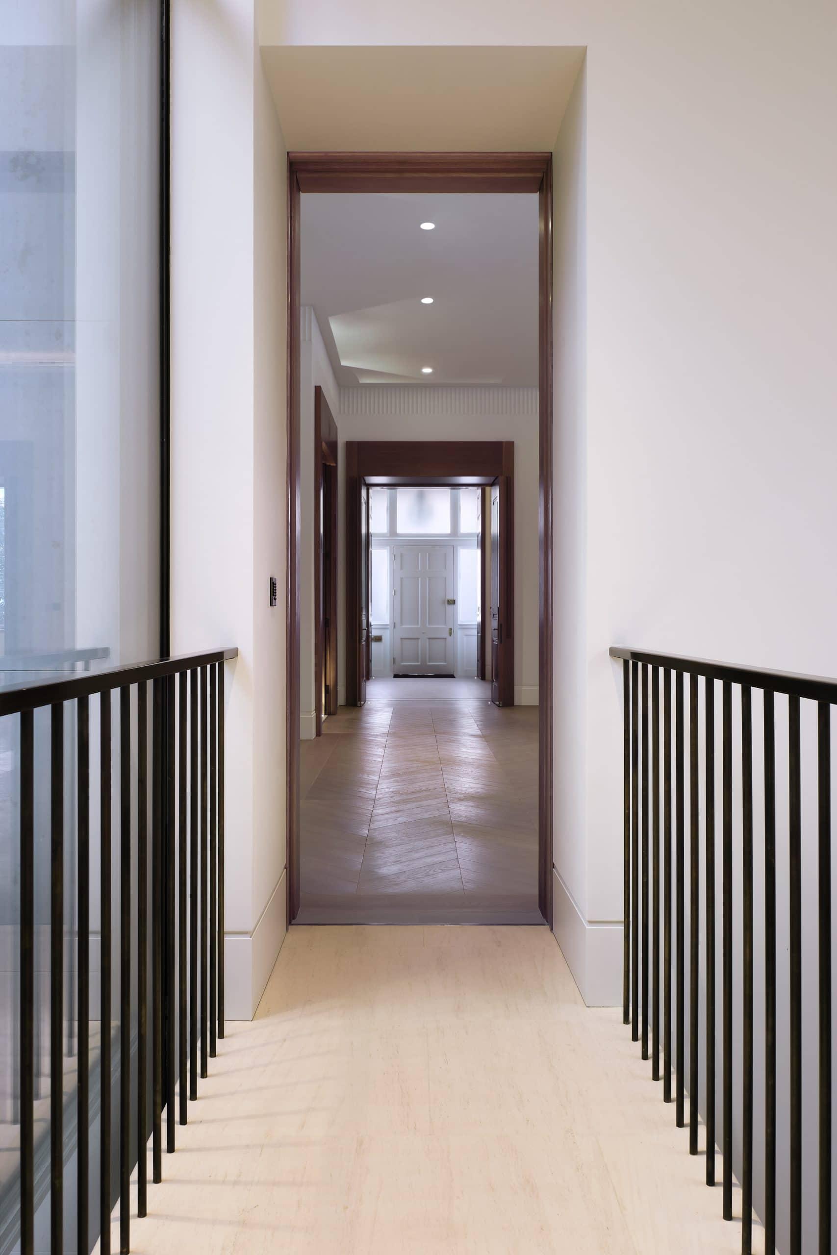 light filled hallway