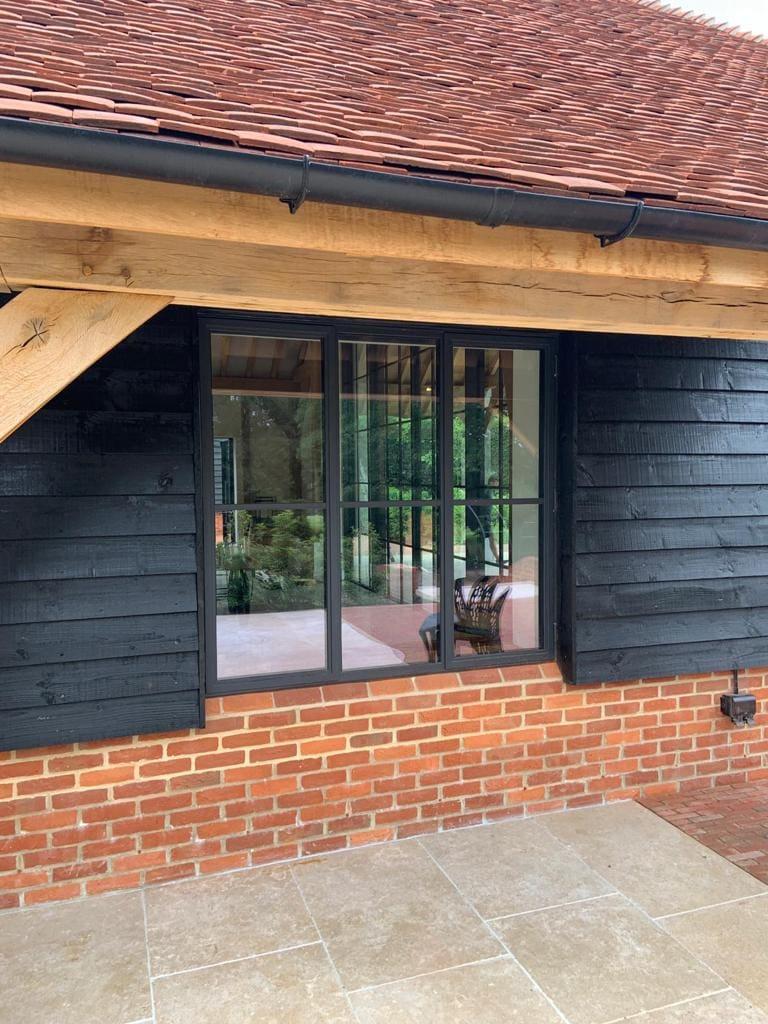 elegant steel framed windows
