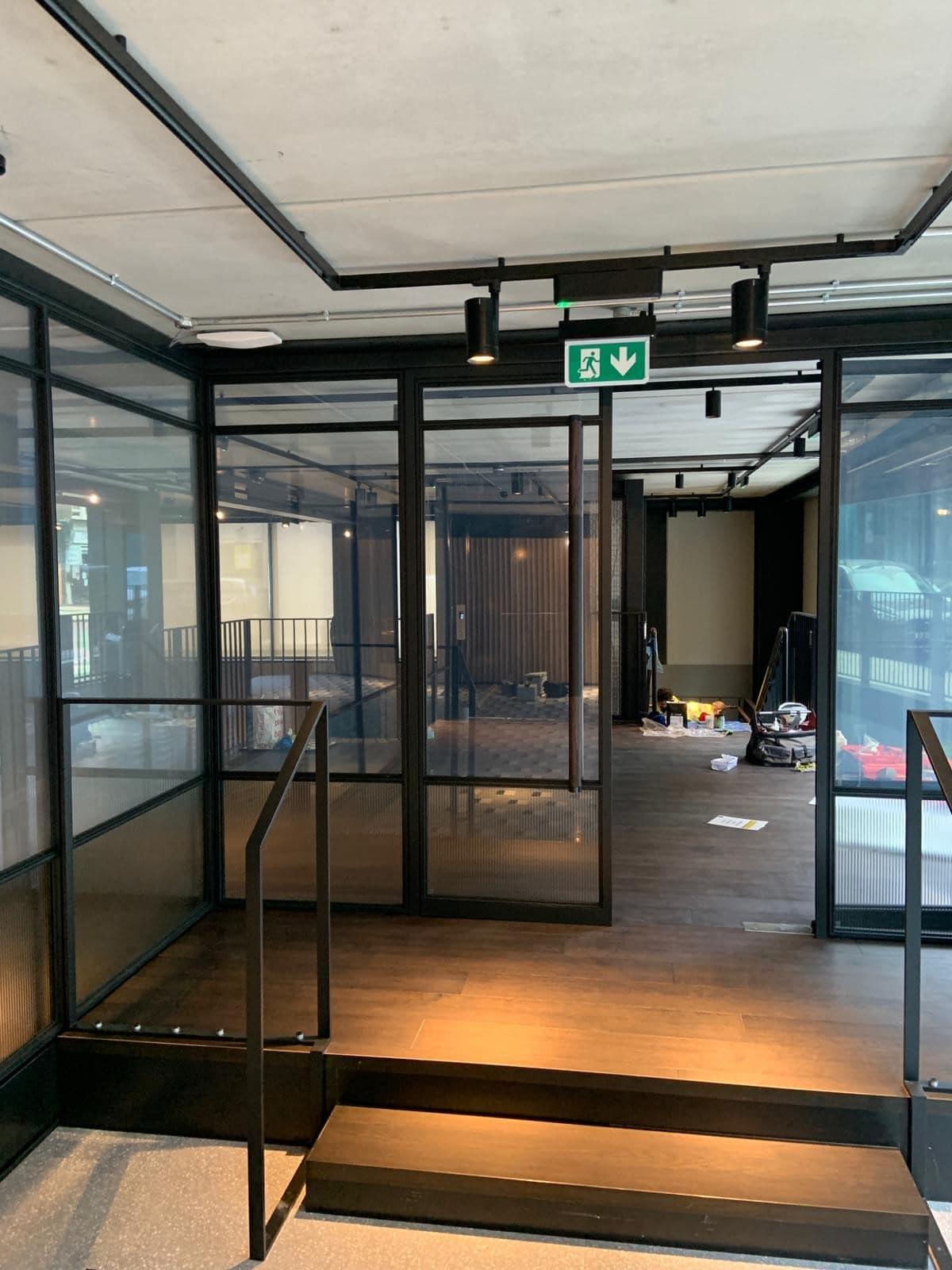internal mondrian glazing systems