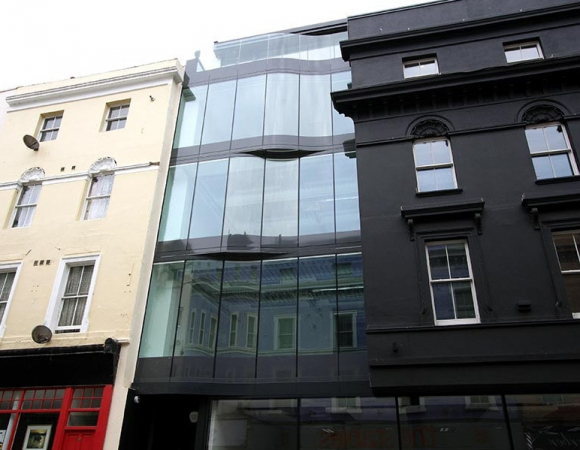 Curved Glass Facade