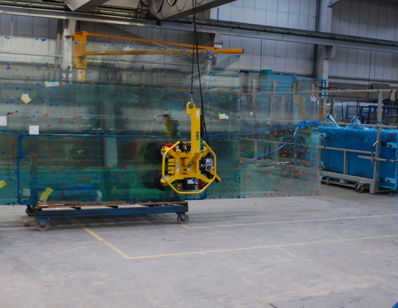 glass processing factory